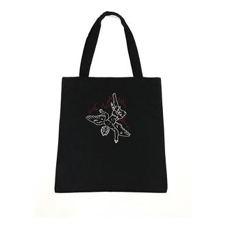 Эко-сумка с росписью краской Падщий Ангел