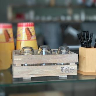 Деревянний  ящик для хранения (30х20х11 см)