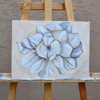 Картина маслом Цветок