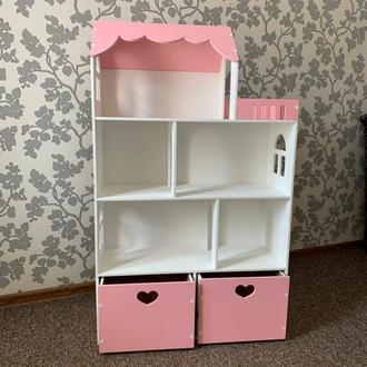 Кукольный домик с ящиками