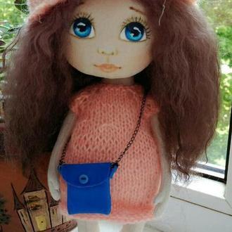 Кукла текстильная Ася