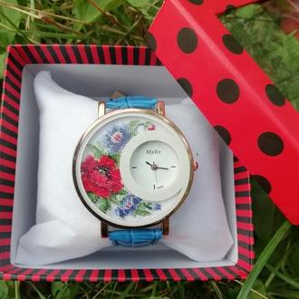 Наручные часы с мікровишивкою