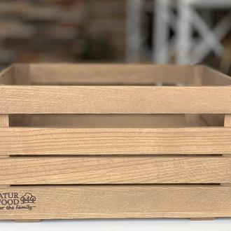 Деревянный ящик (40х30х22 см)
