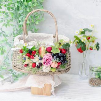 Корзина-сумочка на Спаса  - 2