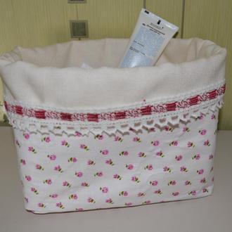 Текстильная корзинка для памперсов, игрушек