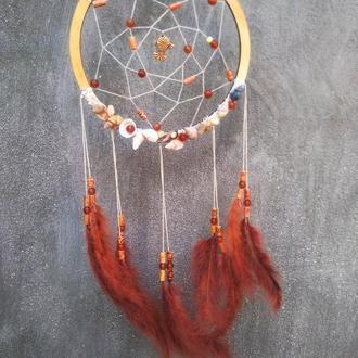 Ловец снов/ Декор для дома/ Подарок подруге/ Dreamcatcher