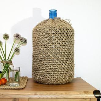 Чехол из джута для бутыля 19л