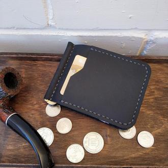 Зажим для денег кожаный Stedley