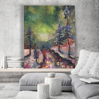 картина маслом на холсте, 40х50