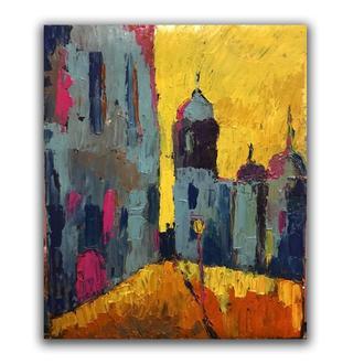 картина маслом на холсте, 40х50, импрессионизм