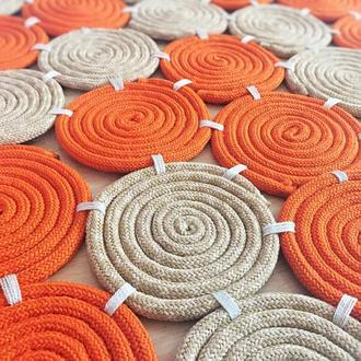 Дизайнерский коврик, декоративный ковер в стиле Лофт, кантри, модерн