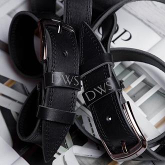 Персонализированные кожаные ремни изготовленные на заказ Подарки для мужчин Подарок для папы