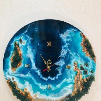 Годинник з епоксидної смоли Resin art