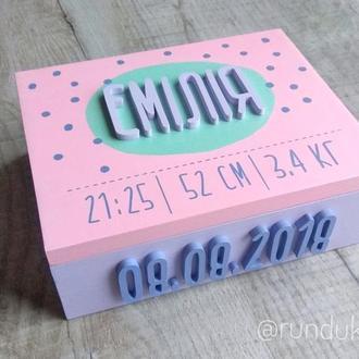 Коробок-метрика, Baby box, мамины сокровища