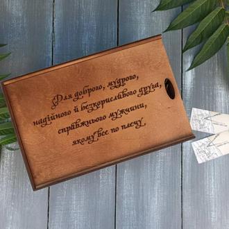 Деревянная коробка для упаковки, упаковка подарка, коробка из фанеры