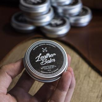 Натуральный бальзам для кожи - Средство для ухода за изделиями из кожи (Крем - воск для кожи, обуви)