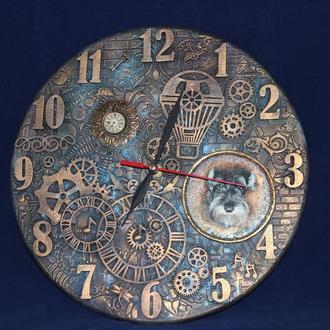 Часы для комнаты мальчика ′Из чего же сделаны наши мальчишки′