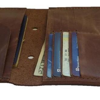 Бумажник для путешествий коричневого цвета х2 (10 цветов)