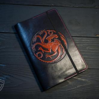 Черный кожаный блокнот. Блокнот Игра престолов. Маленький черный блокнот