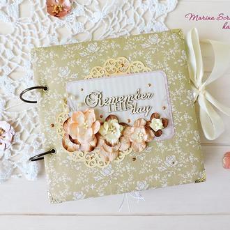 Свадебный подарок свадебный фотоальбом скрапбукинг