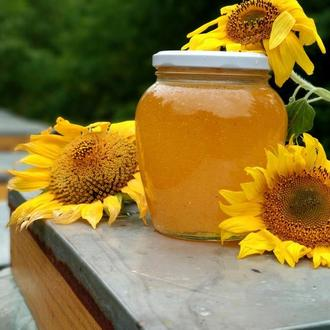 Мед подсолнух+ разнотравье