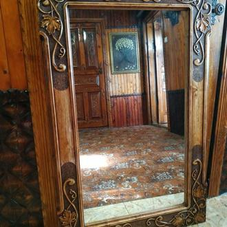 Зеркало, резьба