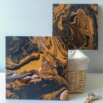 Золото в абстракции