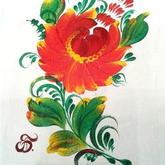 Український сувенір Петриківський розпис Сувенір з українською символікою