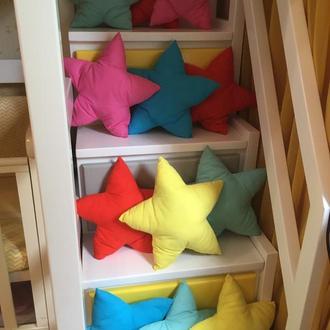 Декоративная подушка звездочка