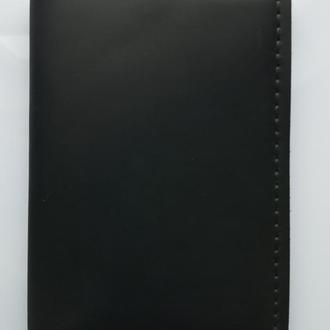 Чехол портмоне из кожи для документов