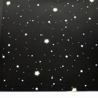 Упаковочная бумага 10 листов Ночное небо