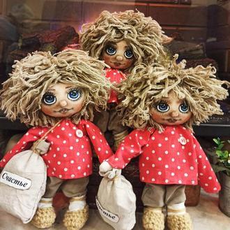 Домовёнок Кузя - декоративная кукла.