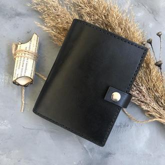Портмоне для денег и докуметов из натуральной кожи ручной работы