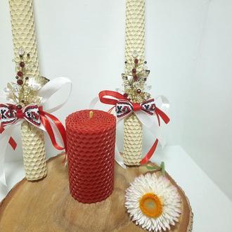 Набор свадебных свеч, Набор Семейний очаг