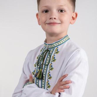 Вишиванка для хлопчика БАРВІНОК
