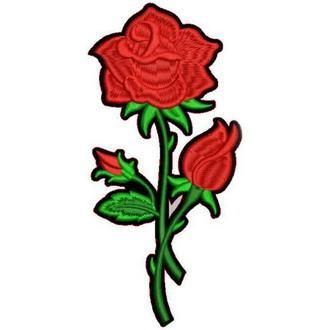 Термоаппликации, патчи розы