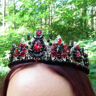 Корона Красное и черное