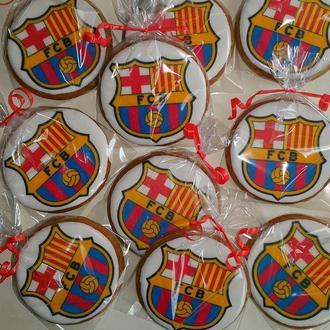 пряники с эмблемой ФК Барселона