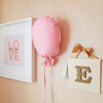 Текстильный воздушный шар. Декор детской
