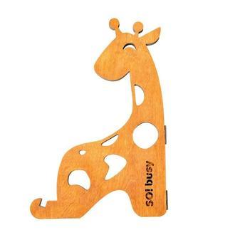 "Подставка для бизибордов SO!busy ""Жирафка"", масло"