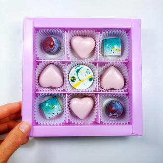 Набор шоколадных конфет 9 шт.