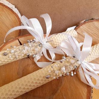 Набор венчальные свечи, набор венчальные свечи
