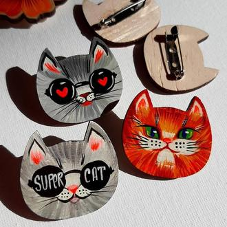 Значки котики