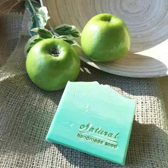 """Натуральное мыло """"Зеленое яблоко"""""""