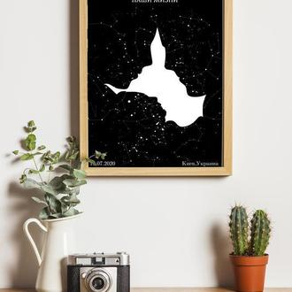 Карта звёздного неба 015
