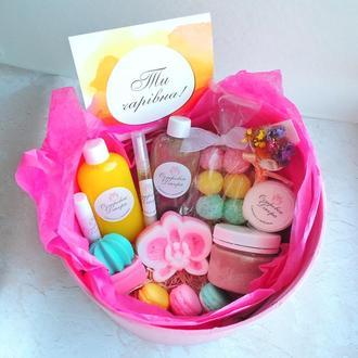 """Подарочный набор """" Exotic box"""" , подарок для девушки,  сестры, жены, подруги,  на день рождения"""