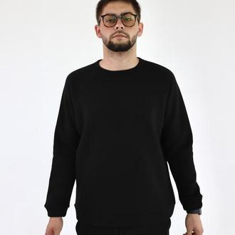 Базовый свитшот спортивный свитер трикотажный разных цветов