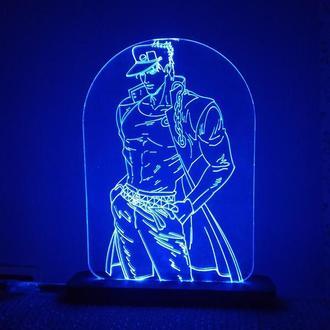 Светильник аниме Джо Джо аниме ночник