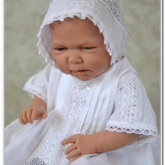 Крестильная рубашка Жемчужная