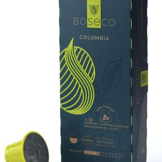 Кофе в капсулах Colombia Boseco.